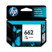 Cartucho de Tinta HP 662 Tri-color - CZ104AB.
