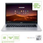 """Notebook Acer A515-54-557C 15,6"""" I5-10210U 4GB 256GB Linux"""