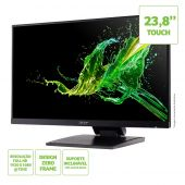 """Monitor Acer 23,8"""" UT241Y FHD Touch VGA+HDMI 75Hz 4ms IPS"""