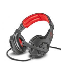 Headset Gamer TRUST GXT 310 Radius Vermelho 21187