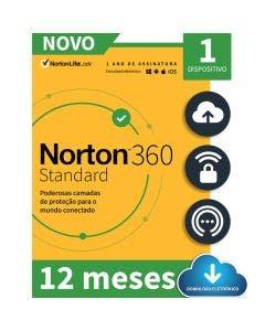 Norton 360 Standard 1 Device 12 Meses - ESD 21405595