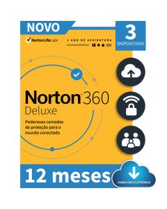 Norton 360 Deluxe 3 Device 12 Meses - ESD 21405649