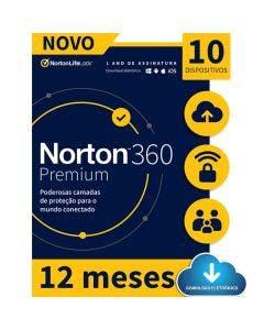 Norton 360 Premium 10 Device 12 Meses - ESD 21414573