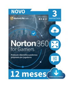 Norton 360 Gamers 3 Device 12 Meses - ESD 21415189