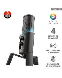 Microfone Trust Streaming GXT 258 Fyru 23465i