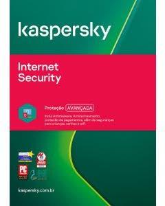Kaspersky Internet Security 1 dev 2 year BR ESD KL1939KDADS