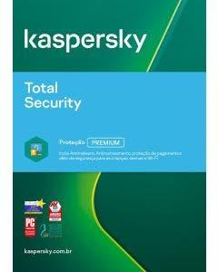 Kaspersky Total Security 10 device 3 year BR ESD KL1949KDKTS