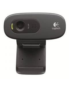 Webcam Logitech C270 HD720p 960-000694- PRETA