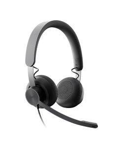 Headset LOGITECH ZONE WIRED UC V.C 981-000876-R [0]