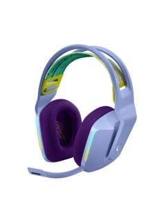 Headset Gamer Logitech G733 Wireless Lilás - 981-000889