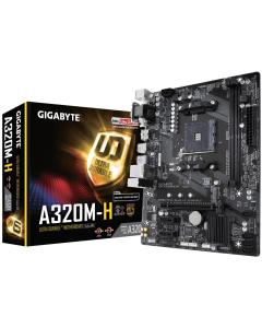 Placa Mae Gigabyte GA-A320M-S2H AMD AM4 DDR4 mATX
