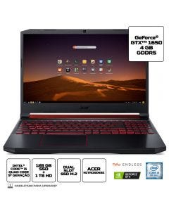 """Notebook Gamer Acer AN515-54-58CL 15,6 """" i5-9 8GB 1TB+128SSD"""