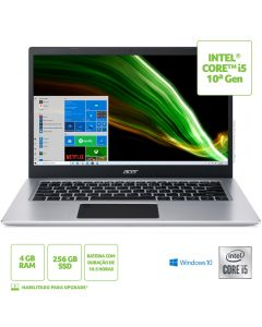 """Notebook Acer A514-53-5239 14"""" i5-1035G1 4GB 256GB W10H"""