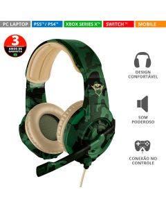 Headset Trust Gamer GXT 310C Radius  Jungle -22207