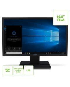 Monitor Acer 19.5'' LED V206HQL VESA VGA/HDMI V206HQLHDMI